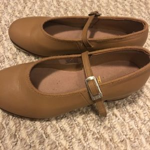 Other - Girls Beige/Tan Tap Shoes